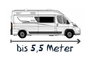 Karmann-Mobil bis 5,5 Meter
