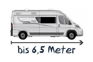 Karmann-Mobil bis 6,5 Meter