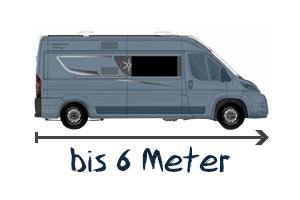 Karmann-Mobil bis 6 Meter