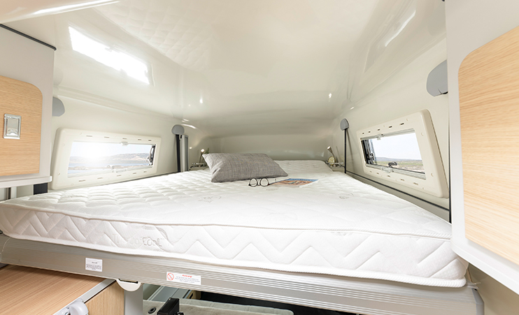 Dexter 550 - the short camper with much space