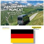 Karmann-Mobil Broschüre Allrad Deutsch