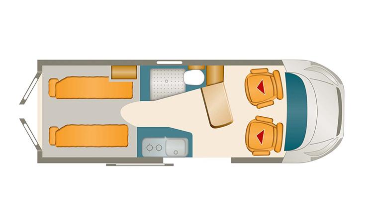 Dexter 570 4x4 Grundriss