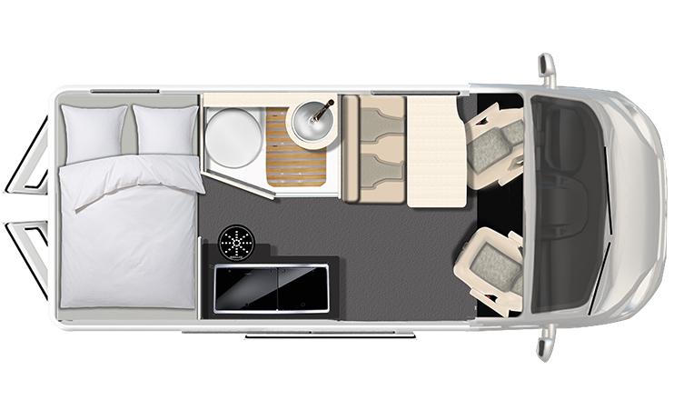 Dexter 560 4x4 Grundriss