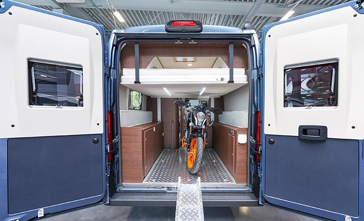 Karmann-Mobil Davis 630 Garage