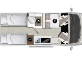 Karmann-Mobil Davis 620 Lifestyle Grundriss