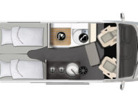 Karmann-Mobil Dexter 570 4x4 Grundriss