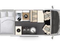 Karmann-Mobil Dexter 580 Grundriss