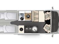 Karmann-Mobil Dexter 625 Grundriss