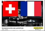 Karmann-Mobil Preisliste CH FR Saison 2022