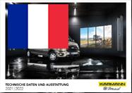 Karmann-Mobil Preisliste FR Saison 2022